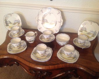 Royal Albert rosedale tea set 1927