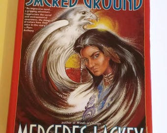 Sacred Ground by Mercedes Lackey  Hardcover 1st Edition  Fantasy/Suspense