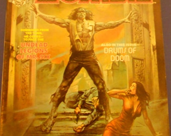 Tales of the Zombie ~ March 1974 Vol 2  issue #1  ~ Price Reduced!!