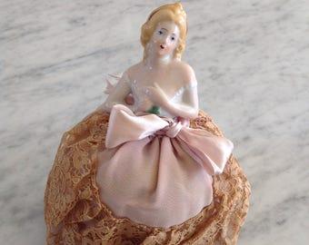 Antique pin cushion doll
