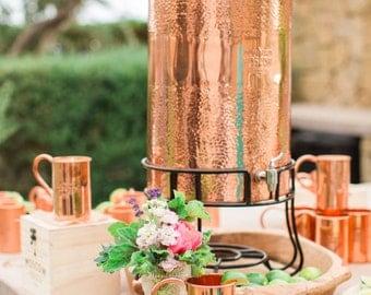 Copper Beverage Dispenser - 28 Qt