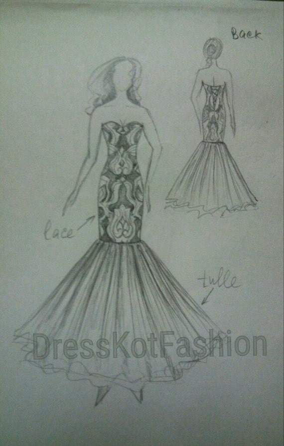 Design Your Own Wedding Dress Deposit Boho Wedding Dress