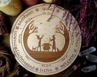 Wheel of the Year, Altar pentacle, Witch Holidays