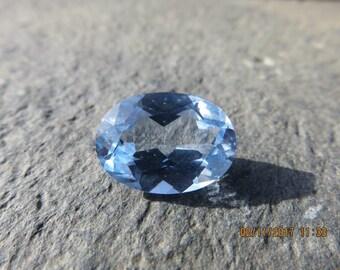 Natural Spinel Transparent Aqua Blue