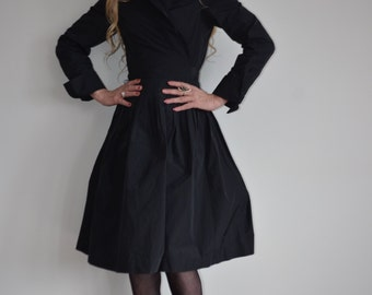 Code FOREVER15: 15% black dress Ralph Lauren 90' Small or X-Small *.