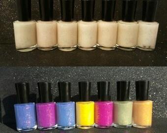 Sunshine UV hand made color changing nail polish