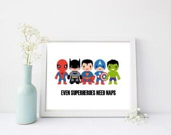 Even Superheroes Need Naps