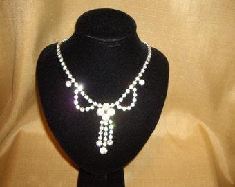 1960's Diamante Necklace