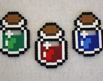 Legend of Zelda Bottles Magnets