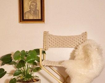 Macrame Chair Etsy