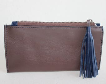 Leather wallet, women wallet