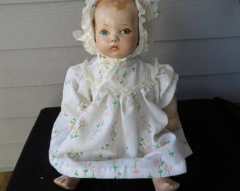 Vintage Composition Doll   1274