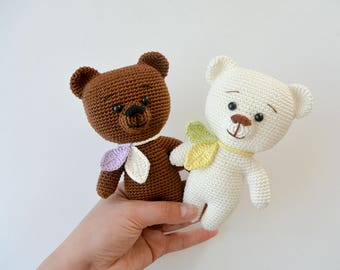 Crochet Teddy Bear, Pattern, PDF, English