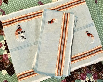 Vintage Placemats and Napkins (8 each)