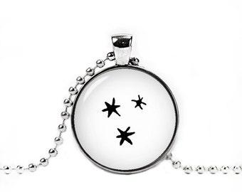 3 Stars Necklace 3 star Harry Pendant Fandom Jewelry Fangirl Fanboy