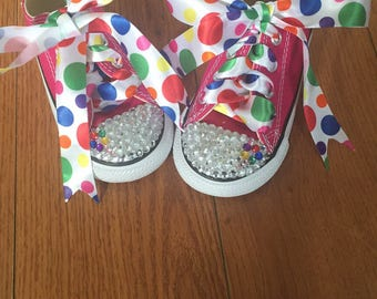Custom candy land theme converse without providing shoes