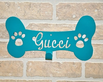 Personalized Leash Hanger