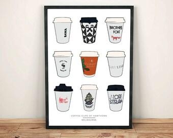 Coffee Cups of Hawthorn
