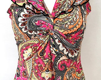 Colorful Vintage Top