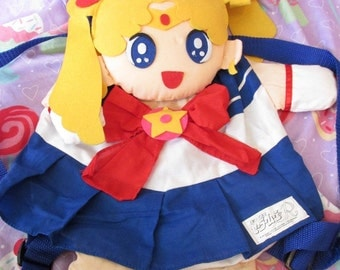 30% OFF! - 1992 Sailor Moon Plush Backpack