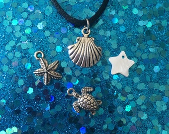 SALE Sea Life Choker or necklace