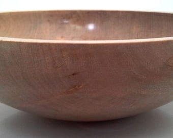 Handmade Wood Bowl in Sycamore