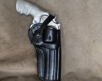 "S&W N Frame 29/629 5""  2 Position Leather Holster"