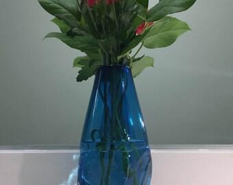 Crystalline Vase - Aquamarine