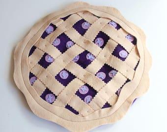 Blueberry Pie Beret