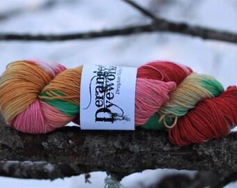 Chipper 2 *SPARKLE* - Hand Dyed Yarn - SW Merino Wool/Stellina (74/16) Fingering/Sock Weight