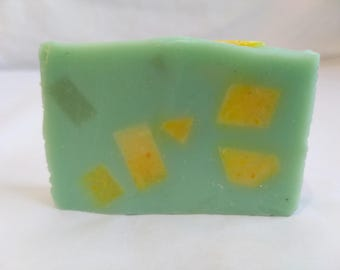Lemon and lime soap