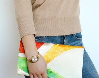 Japanese Kimono Obi Clutch | Obi Bag | Kimono Bag | Japanese Clutch | Japanese bag | Obi |