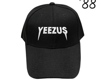 Yeezus Baseball Hat Fashion Hipster Embroidery Hat Cool Hat Cotton Cap Cotton Pinterest Instagram Tumblr