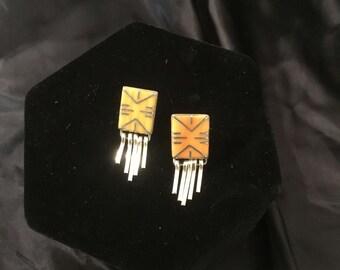 Authenic Zuni Earrings