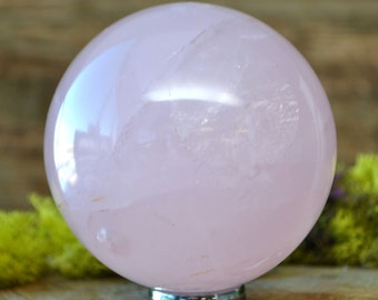 Rose Quartz Crystal Sphere Ball -  1062.09