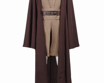 Mace Windu Costume Tunic Robe Cosplay Costumes