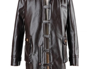 The Dark Knight Rises Bane Coat Jacket Cosplay Costumes