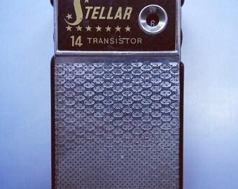 STELLAR 14 Transistor Radio