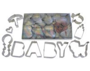 Baby Shower Cookie Cutter Set - 16 pieces