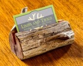 Log Business Card Holder Wood, Wooden Business Card Holder, Red Cedar Driftwood Business Card, Log Home Decor, Rustic Gift, Desk Accessories