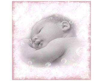 Greetings card Baby Girl