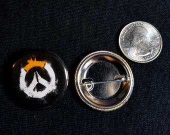 """Handmade 1.25"""" pinback buttons Overwatch pins badges button"""