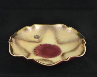 Vintage Dümler Breiden Höhr Serving Bowl / Dish. Glazed and Gilded. 1950s
