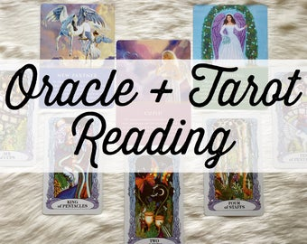 Oracle + Tarot Card Reading via email, In depth full Tarot Reading, Intuitive Card Reading