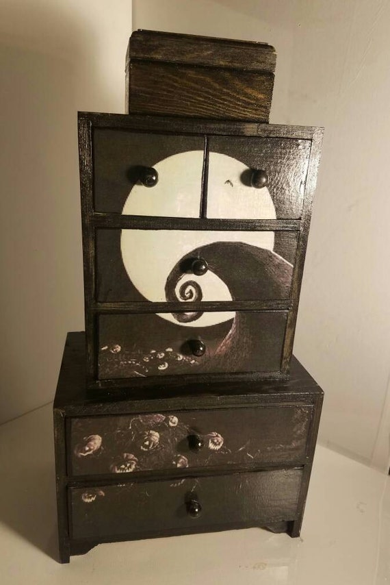 nightmare before christmas jewelry box 16 by thatrottenbirch