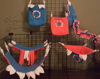 Today Only Sale - So Bright - Sugar Glider Cage Set