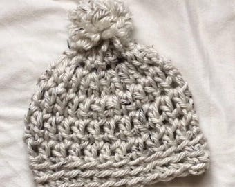 CUSTOMIZE ITEM: crochet oversized slouchy beanie