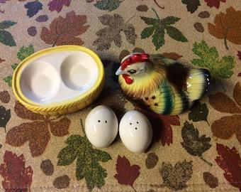 Hen/eggs Salt & Pepper Shakers