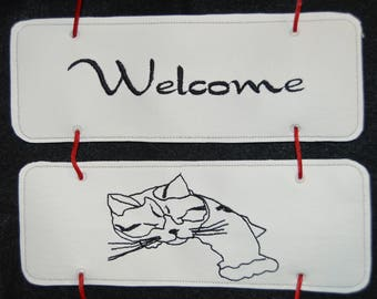 Welcome Cat Mix and Match Add on