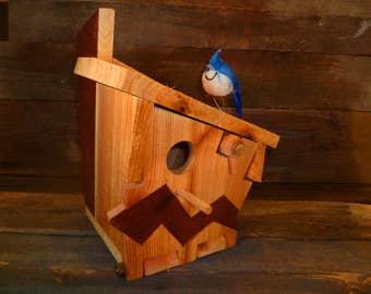 Unique handmade artistic birdhouses